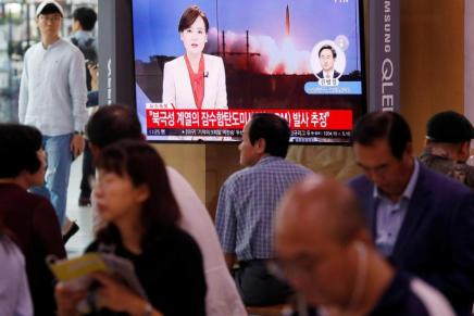 La Corée du Nord a effectué un nouveau tir demissile