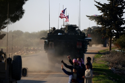 Les troupes américaines quittent la Syrie pourl'Irak