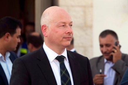 L'émissaire de Trump pour le plan de paix israélo-palestinien jettel'éponge